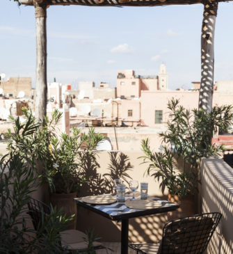 The Nomad, a restaurant in Marrakech