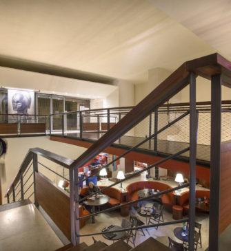 Le café Dapper, au sein du musée du même nom