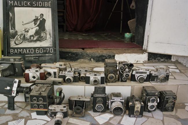 Studio Malick. La collection d'appareils du maître.