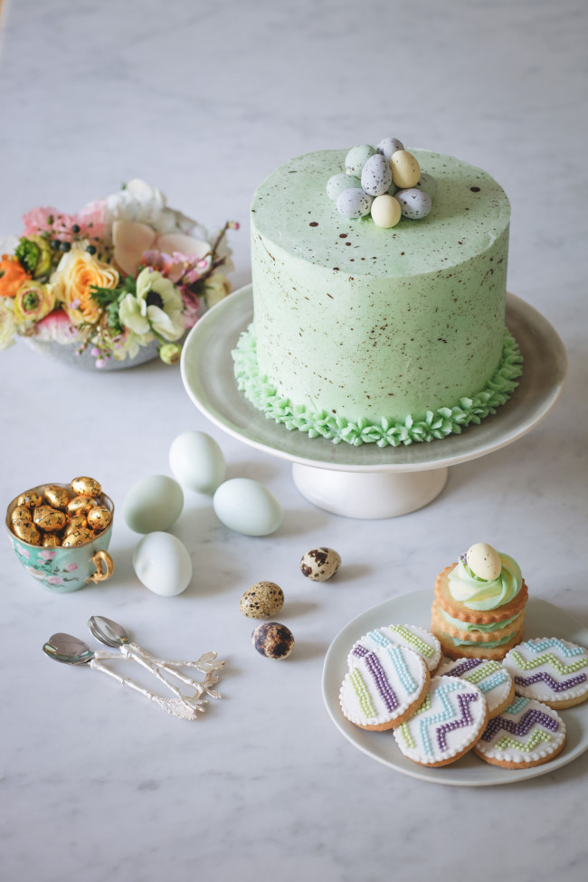 Faro's Easter desserts for MOYI