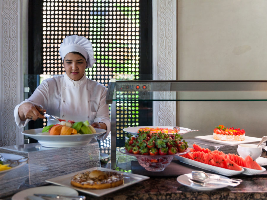 Buffet de la Mamounia, Marrakech