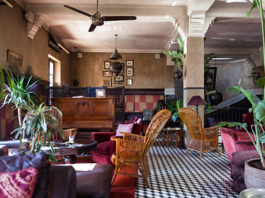 grand café de la Poste, restaurant à Marrakech