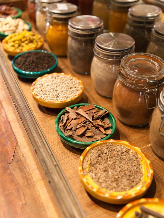 La Maison Arabe,the cooking workshop.