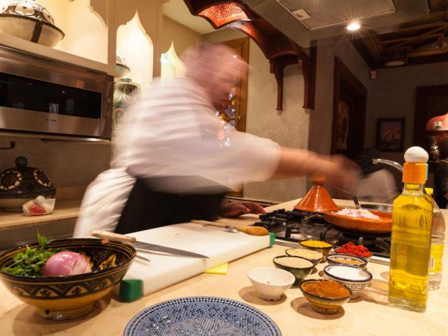 La Maison Arabe, cours de cuisine.