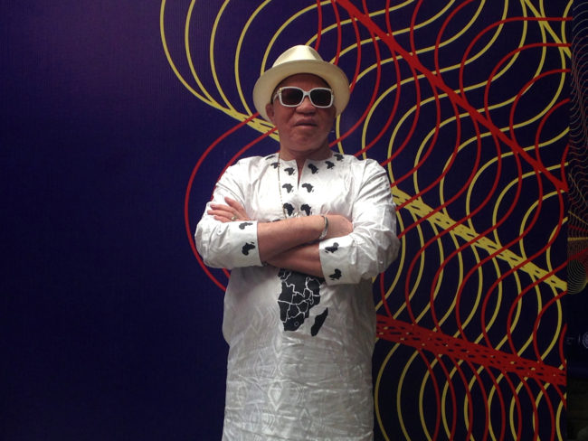 Malian composer and musician Salif Keita at the International Festival Cervantino, 2015 © ProtoplasmaKid / Wikimedia Commons / CC-BY-SA 4.0